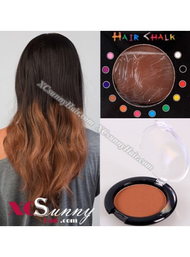 Wholesale-100% Temporary Chocolate Hair Color Pastel Chalk 10 boxes/lot  [HCK002]