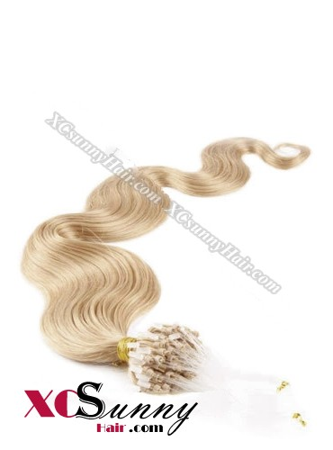 14 Inch - 26 Inch Body Wave #16 Micro Loop Ring Human Hair Extensions 0.5g*100s  [MLRB51011]
