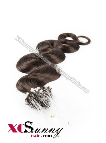 14 Inch - 26 Inch Body Wave #3 Micro Loop Ring Human Hair Extensions 0.5g*50s  [MLRB55004]