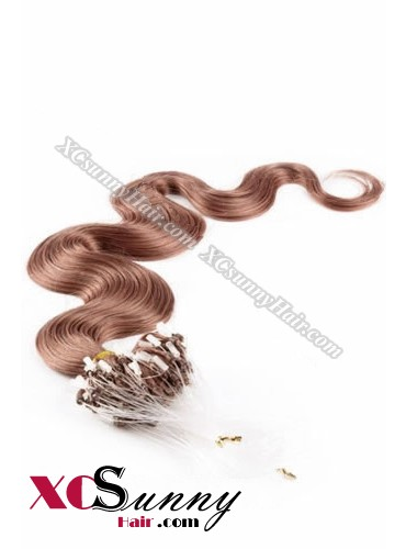 14 Inch - 26 Inch Body Wave #33 Micro Loop Ring Human Hair Extensions 0.8g*50s  [MLRB85017]