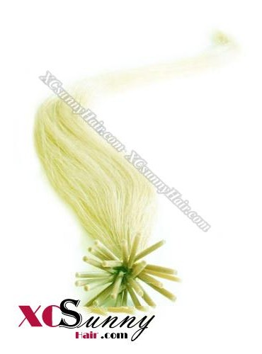 18 Inch - 26 Inch Silk Straight #Green Stick Tip Human Hair Extensions 1g*50s [SUTS15023]