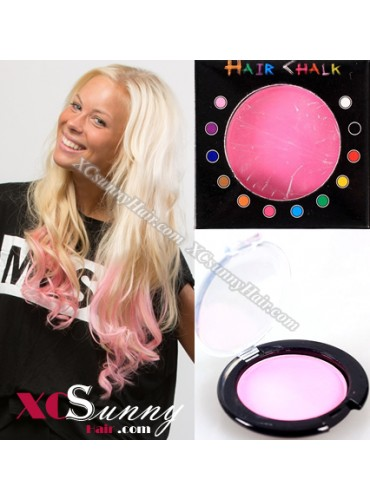 Wholesale-100% Temporary Pink Hair Color Pastel Chalk 10 boxes/lot  [HCK006]
