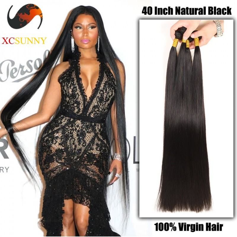 Wholesale 40 Inch Extra Long 9a Deluxe Straight 100 Brazilian