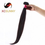 Wholesale-75% Sale 12-26 Inch 7A Straight 100% Brazilian Virgin Hair Weave Remy Human Hair Weft 100g/pcs [BHV118]