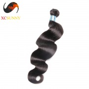 Wholesale-12-26 Inch 8A Deluxe Body Wave 100% Peruvian Virgin Hair Weave Remy Human Hair Weft 100g/pcs [PHV039]