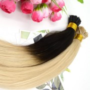 Ombre I Tip Hair Extensions Two Tone Dip Dye 100% Indian Remy Human Hair 40pcs 100g [ITDD001]