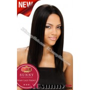 16 Inch Silky Straight #1 Full Lace Wigs 100% Indian Remy Human Hair [FLH150]