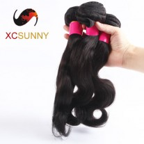 3 Bundles Wholesale-75% Sale Mix Length 100% Brazilian Virgin Hair Weave Remy Human Queen Hair Weft 7A Body Wave 100g/pcs [BHV116]