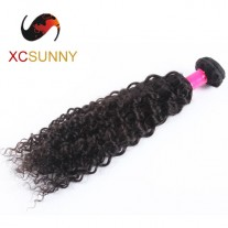 Wholesale-75% Sale 12-26 Inch 7A Deep Wave 100% Brazilian Virgin Hair Weave Remy Human Hair Weft 100g/pcs [BHV119]