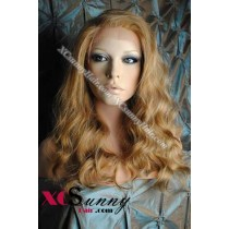 16 Inch Body Wave #27/613/30 Full Lace Wigs 100% Indian Remy Human Hair [FLH288]