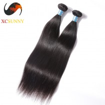 Wholesale Mix Length 2pcs-12-26 Inch 5A Deluxe Straight 100% Peruvian Virgin Hair Weave Remy Human Hair Weft 100g/pcs [PHV042]