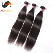 Wholesale Mix Length 3pcs-12-26 Inch 8A Deluxe Straight 100% Malaysian Virgin Hair Weave Remy Human Hair Weft 100g/pcs [MHV066]