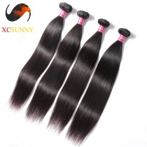 Wholesale Mix Length 4pcs-12-26 Inch 8A Deluxe Straight 100% Malaysian Virgin Hair Weave Remy Human Hair Weft 100g/pcs [MHV111]