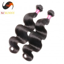 Wholesale Mix Length 2pcs-12-26 Inch 5A Deluxe Body Wave 100% Malaysian Virgin Hair Weave Remy Human Hair Weft 100g/pcs [MHV105]