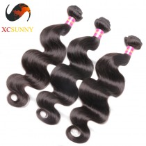Wholesale Mix Length 3pcs-12-26 Inch 8A Deluxe Body Wave 100% Malaysian Virgin Hair Weave Remy Human Hair Weft 100g/pcs [MHV108]