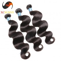 Wholesale Mix Length 3pcs-12-26 Inch 8A Deluxe Body Wave 100% Peruvian Virgin Hair Weave Remy Human Hair Weft 100g/pcs [PHV047]
