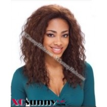 14 inch Deep Wave #4 Lace Front Wigs 100% Indian Remy Human Hair [LFH237]