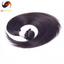 Wholesale-(12-26)Inch 4A Straight 100% Peruvian Virgin Hair Weave Remy Human Hair Weft 100g/pcs [PHV004]