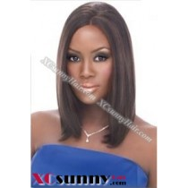 12 Inch Silky Straight #2 Full Lace Wigs 100% Indian Remy Human Hair [FLH267]