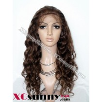 20 Inch Body Wave  #4/27 Glueless Lace Front Wigs 100% Indian Remy Human Hair [GLH105]