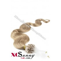 14 Inch - 26 Inch Body Wave #12 Micro Loop Ring Human Hair Extensions 0.8g*50s  [MLRB85009]