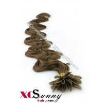 18 Inch - 26 Inch Body Wave #10 Nail Tip Human Hair Extensions 1g*50s [NUTB15008]