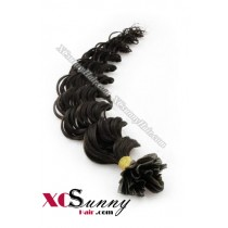 18 Inch - 26 Inch Deep Wave #2 Nail Tip Human Hair Extensions 1g*50s [NUTD15003]