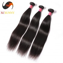 Wholesale Mix Length 3pcs-12-26 Inch 5A Deluxe Straight 100% Brazilian Virgin Hair Weave Remy Human Hair Weft 100g/pcs [BHV066]