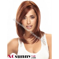 10 inch Silky Straight #4 Lace Front Wigs 100% Indian Remy Human Hair [LFH191]