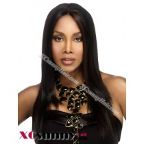 18 Inch Silky Straight #1 Glueless Lace Front Wigs 100% Indian Remy Human Hair [GLH094]