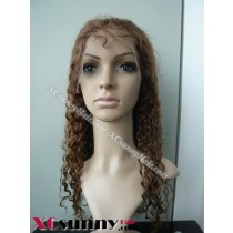 18 Inch Water Wave #4 Full Lace Wigs 100% Indian Remy Human Hair [FLH074]
