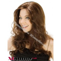 18 Inch Body Wave #2 Glueless Lace Front Wigs 100% Indian Remy Human Hair [GLH088]