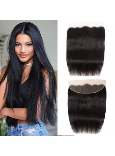 XCsunnyHair Pre Plucked 13x4 Inch Straight Lace Frontal Hair Closure 100% Virgin Hair [LFC001]