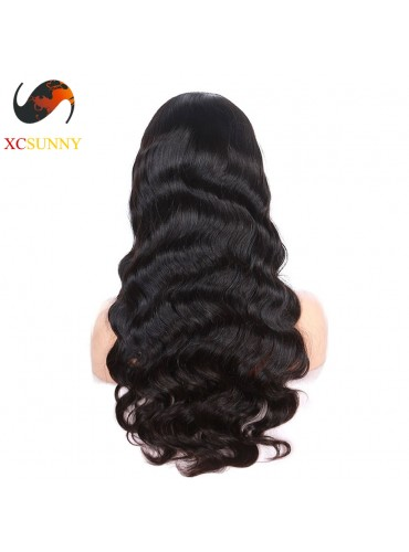 12-26 inch Virgin Brazilian Body Wave Full Lace Human Hair Wigs Pre Plucked Natural Hairline With Baby Hair  [FVH002]