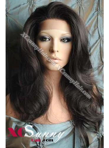 24 Inch Body Wave #2/4 Full Lace Wigs 100% Indian Remy Human Hair [FLH316]
