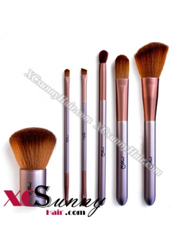 6PCS PURPLE MAKEUP BRUSH SET[MKS001]