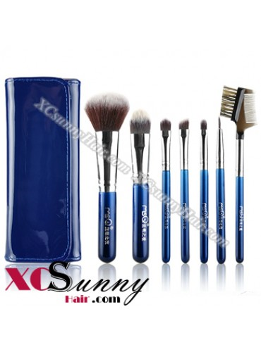 7PCS BLUEBERRY NIGHT MAKEUP BRUSH SET [MKS002]
