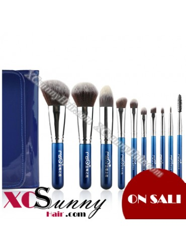 10PCS BLUEBERRY NIGHT MAKEUP BRUSH SET [MKS004]