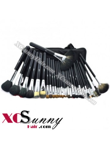 32PCS SENIOR GOAT HAIR BLACK MAKEUP BRUSH SET [MKS010]