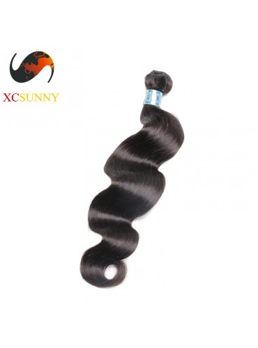 Wholesale-12-26 Inch 5A Deluxe Body Wave 100% Peruvian Virgin Hair Weave Remy Human Hair Weft 100g/pcs [PHV039]