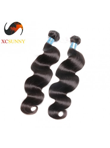 Wholesale Mix Length 2pcs-12-26 Inch 5A Deluxe Body Wave 100% Peruvian Virgin Hair Weave Remy Human Hair Weft 100g/pcs [PHV043]