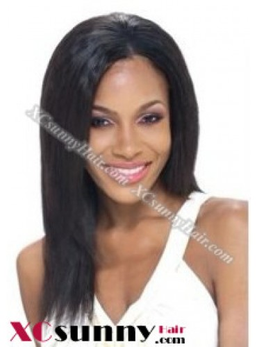 12 Inch Silky Straight #1 Full Lace Wigs 100% Indian Remy Human Hair [FLH266]