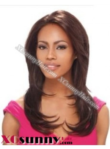 14 Inch Silky Straight #4 Full Lace Wigs 100% Indian Remy Human Hair [FLH265]