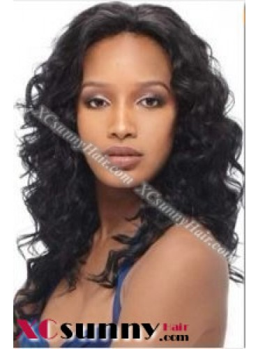 14 inch Body Wave #1B Lace Front Wigs 100% Indian Remy Human Hair [LFH231]