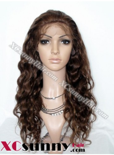 20 Inch Body Wave  #4/27 Glueless  Full Lace Wigs 100% Indian Remy Human Hair [GFH020]