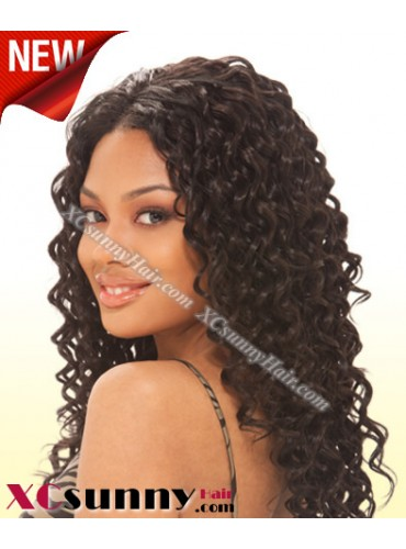 16 Inch Deep Wave #2 Full Lace Wigs 100% Indian Remy Human Hair [FLH181]
