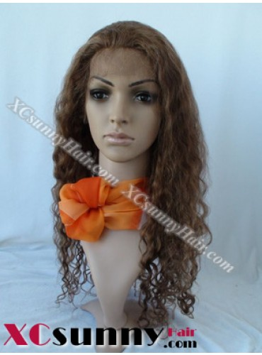 20 Inch Deep Wave  #4/27 Glueless  Full Lace Wigs 100% Indian Remy Human Hair [GFH031]