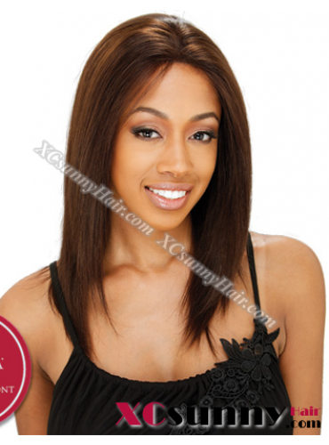 14 Inch Silky Straight #4 Full Lace Wigs 100% Indian Remy Human Hair [FLH144]
