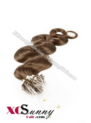 14 Inch - 26 Inch Body Wave #8 Micro Loop Ring Human Hair Extensions 0.5g*100s  [MLRB51007]
