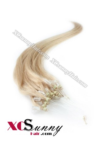 14 Inch - 26 Inch Silk Straight #16 Micro Loop Ring Human Hair Extensions 0.5g*50s  [MLRS55011]